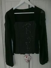 BEAUTIFUL & ELEGANT MARIELLA ROSATI TOP, SIZE 12