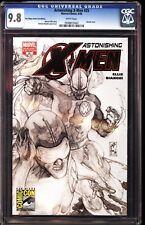 Astonishing X-Men 25 CGC 9.8 Sand Diego Comic Con Edition Sketch Cover