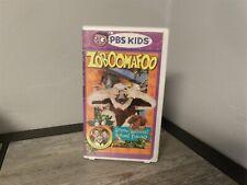 VHTF Zoboomafoo - Sense-Sational Animal Friends PBS Kids VHS Clam Shell