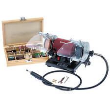 Mini Schleifer Doppelschleifer Multi Werkzeug Gravur Schleifmaschine Schleifbock