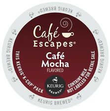 Cafe Escapes Cafe Mocha, 96 count Kcups, FREE SHIPPING
