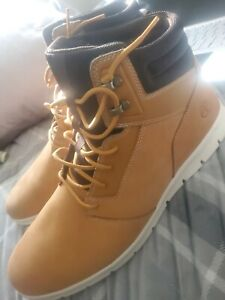 Timberland Men's Graydon Leather Sneaker Boot Wheat New