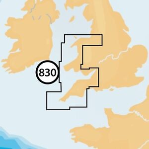 NAVIONICS Plus Small Double 830 - Liverpool to Exmouth CHART CARD - Micro SD