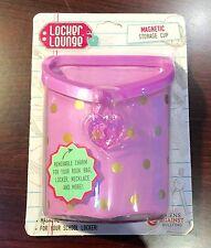 Locker Lounge Magnetic STORAGE CUP PURPLE FOR SCHOOL LOCKER NEW