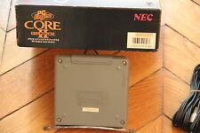 PC Engine Core Grafx II JAPAN PI-TG7 Console System Original Box Serial Matching