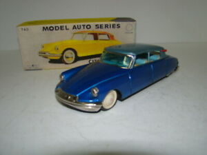 1960s Citroen DS19 4-Door Sedan by Bandai