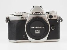 Olympus OM-D E-M5 Mark II Digitalkamera - Silber (nur Gehäuse) **Demo Modell**