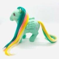 Vintage My Little Pony G1 1985 Brush N Grow Long Hair Green MLP Braided Beauty