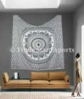 Hippie Wall Hanging Tapestry Bohemian Cotton King Size Bedspread Gypsy Wall Art