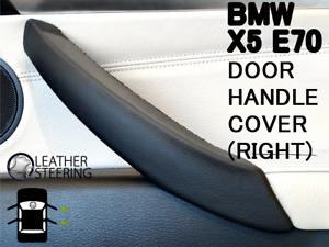 BMW X5 Interior Door Handle Cover for X5, X6 - E70 E71 E72 Black Right Door Pull