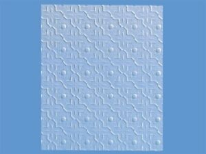 1:12 scale Dolls House Wall Paper Embossed Ceiling  PP96
