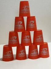 Speed Stacks - Red - WSSA Official Cups Set w Carrying Case -Stacking Game