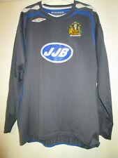 Wigan Athletic 2007-2008 Portero De Fútbol camisa tamaño XL / 39866