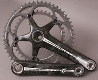 Campagnolo Athena 11 Speed Road Bike Carbon Fiber Crankset 172.5 39/53 Black NOS