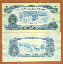 South Vietnam, 2 dong, ND (1963),  Pick R5, aUNC