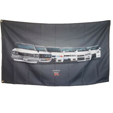 New Car Banner Racing Flag for GTR Nissan Racing Team Flag 3x5FT Wall Shop Decor