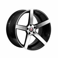 "Set da 4 Cerchi in lega Axe wheels EX18 18"" X 8""   5 X 118 ET40 Nero Lucido"