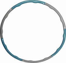 More Mile Weighted 1.2kg Hula Hoop - Blue
