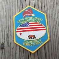 Drug Enforcement Administration DEA Sacramento California District Office Patch