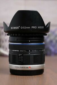 Olympus M.Zuiko 9-18mm f/4.0-5.6 ED Lens with Hood and CPL Filter