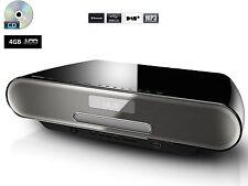 Panasonic SC-RS52 4GB HDD CD DAB MP3 USB Bluetooth Player Micro Slim HiFi System