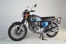 PLANET BLUE Custom Mix Paint for Honda Motorcycles- QUART- CB750 1975