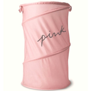 Victoria's Secret PINK Foldable Mesh Laundry Basket Hamper