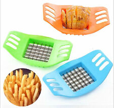 CEA Potatoes Cutter Cut into Strip French Fries Tool Kitchen Gadget Color Random