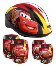 Kinder Fahrrad Disney Helm Protektoren Ellenbogen Knie Schützer Schoner Cars