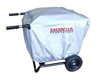 Generator cover with Installed 2 Wheel Kit with Handles (Only) EU3000is Elastic
