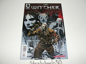 The Witcher #1 Comic Dark Horse 2014 1st Appearance Netflix Henry Cavill RARE