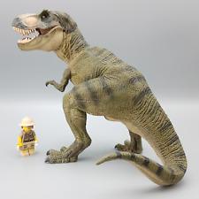 More details for papo green standing tyrannosaurus rex dinosaur 55001 figure retired model rare
