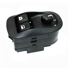 POWER WINDOW SWITCH MASTER ELECTRIC MIRROR BUTTON BLACK FOR PEUGEOT 206 306