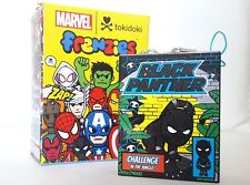Tokidoki x Marvel Mini Comic Book Frenzies Phone Charm - Black Panther