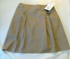 K-12 Gear girls khaki skort skirt with shorts new with tags model 69 size 14