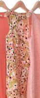 J. Jill Women's Dress Love Linen Shrimp Print Sheath Dress Size MP NWT