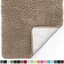 Gorilla Grip Original Luxury Chenille Bathroom Rug Mat, 24x17, Extra Soft and Ab