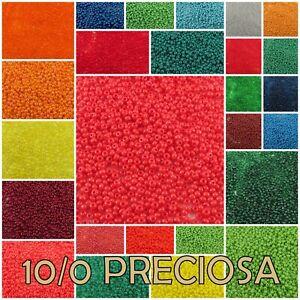 10/0 Preciosa Czech Round Seed Beads 50060-98140