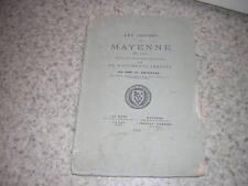 1879.les croisés de Mayenne en 1158 / Pointeau.envoi autographe.croisade