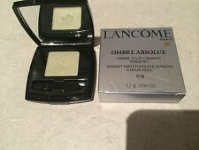 Lancome Ombre Silver Absolue Smoothing Eye Shadow C10