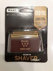 WAHL Shaver/Shaper Replacement SUPER CLOSE FOIL GOLD 5 Star Series 7031-200