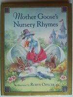 Mother Goose's Nursery Rhymes (Classic Fairy Tales) Hardback Book The Fast Free