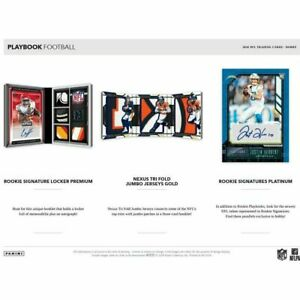 MIAMI DOLPHINS 2020 PANINI PLAYBOOK FOOTBALL Half CASE 4 BOX TEAM BREAK #5
