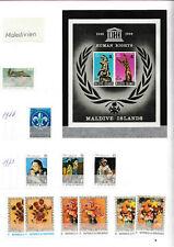 Maledives  Briefmarken Sammlung