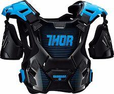 Thor Adult Guardian Deflector Body Armour MD/LG Black/Blue Quad ATV MX