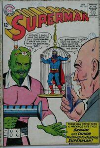 SUPERMAN #167 VG 4.0 DC 2/1964