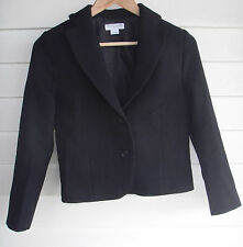 Cotton On Women's Cropped Black Jacket - Size S