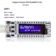 "ESP8266 WIFI  0.91"" Inch OLED Display Development Board NodeMcu For Arduino NEW"