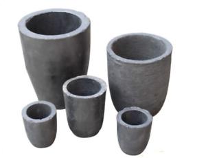 Graphite Crucible Furnace Casting Foundry Ingot Metal Melting Tool 0.5 to 18 KG