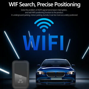 GF-22 GPS Tracker for Car Mini Magnetic SOS GPS Vehicle Tracking Device